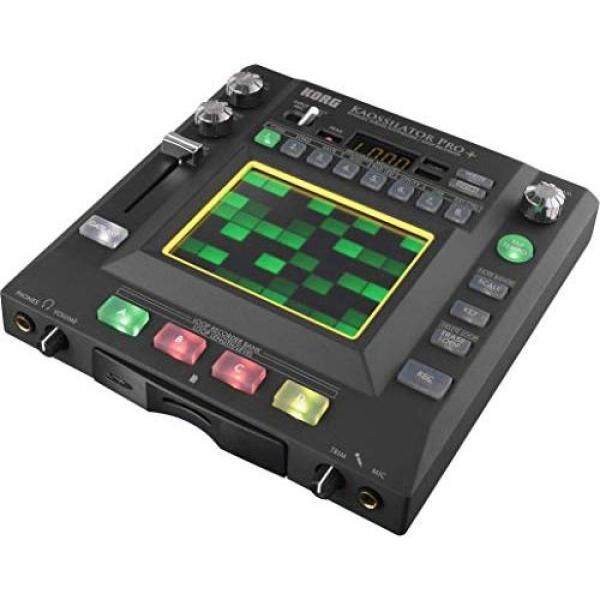 KORG Synthesizer Loop Recorder KAOSSILATOR PRO+ Kaosirator Overlap recording Music production Played on a touchpad Ideal for live performances Includes editor software Malaysia