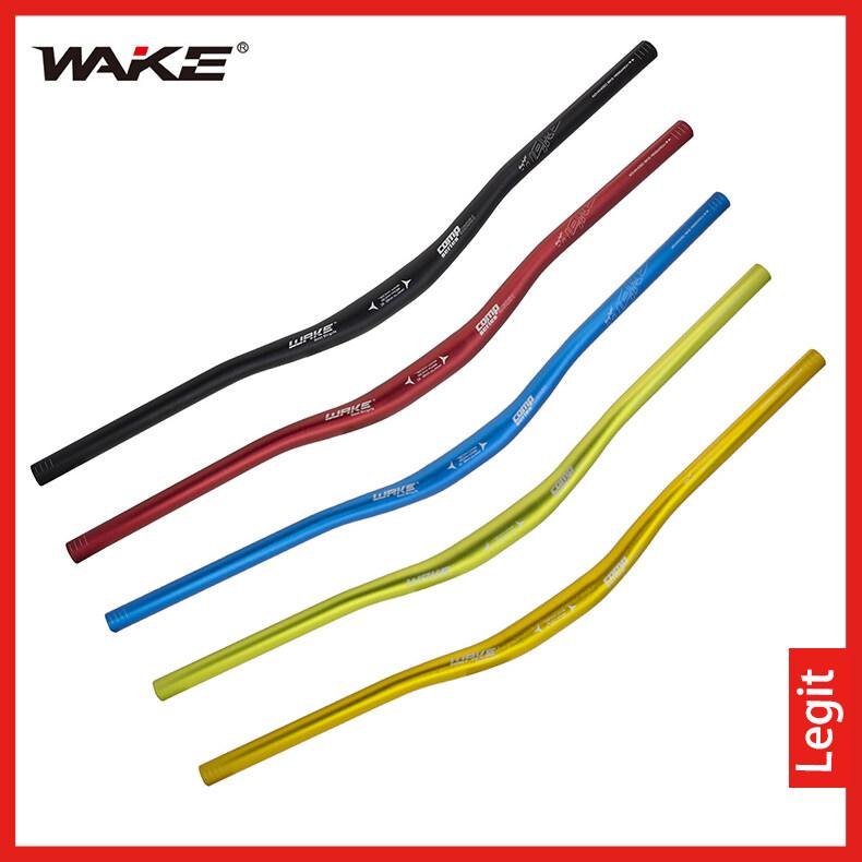Wake 720/780มม.* 31.8มม.mtbอลูมิเนียมอัลลอยด์รถจักรยานhandlebar Riser Bendบาร์ยึดพ่นทรายanode 5สีสำหรับจักรยานhandlebarสีดำ/สีน้ำเงิน/สีเขียว/สีทอง/สีแดง.