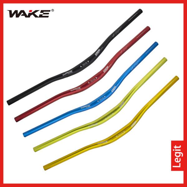Mua WAKE 720/780Mm * 31.8Mm Xe Đạp Hợp Kim Nhôm Xe Đạp Tay Cầm Riser Uốn Cong Tay Cầm Thanh Đánh Bóng Anode 5 Màu Cho Tay Cầm Xe Đạp Đen/Xanh Dương/Xanh Lục/Vàng/Đỏ