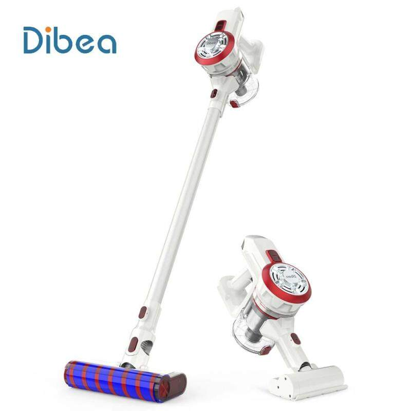 Dibea V008 Pro 2-In-1 Handheld Vacuum Cleaner Strong Suction Cordless Vertical Vacuum Aspirator With Motorized Cleaning Brush Singapore