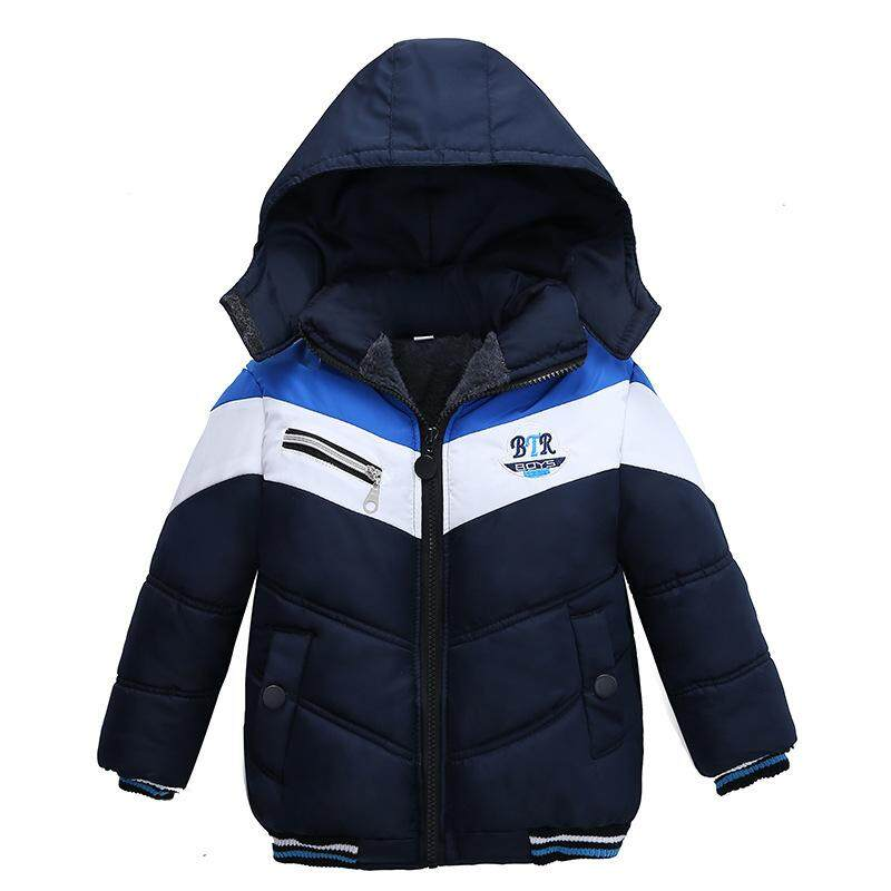 48970db98 New Jackets For Boys Clothes 2018 Winter Hooded Down Jacket For Kids Coats  Long Sleeve Outerwear
