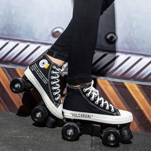 Phân phối Giày Trượt Hai Hàng Trượt Patin Hình 4 Bánh Giày Trượt Pa-tanh Và Giá Flash Trượt Patin Được Bán Chất Lượng Cao