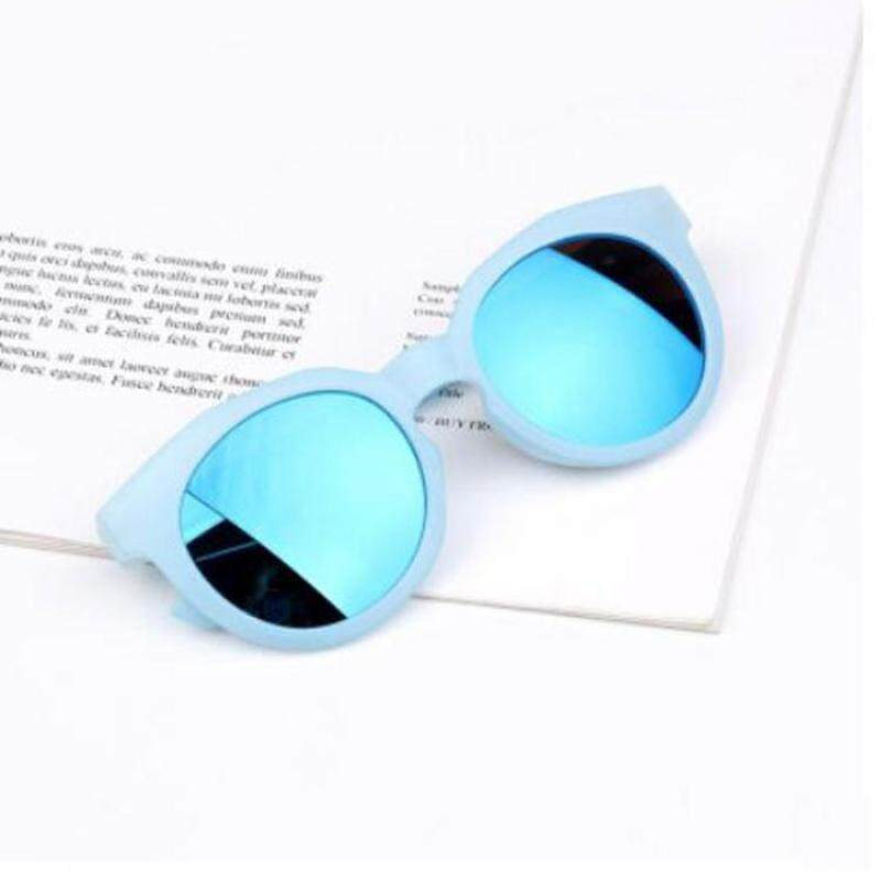 Giá bán Thời Trang Trẻ Em Sunglasses Đầy Màu Sắc UV400 Resin Lens Bảo Vệ Mắt Kính Boy Girl Goggles