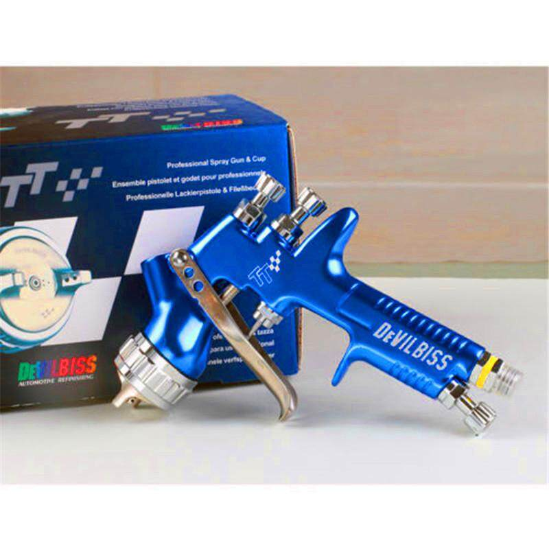 DEVILBISS Paint spray TOOL gravity 600cc cup   TT HVLP and lacquer spray 1.3 tip use to for car new for 2019 model