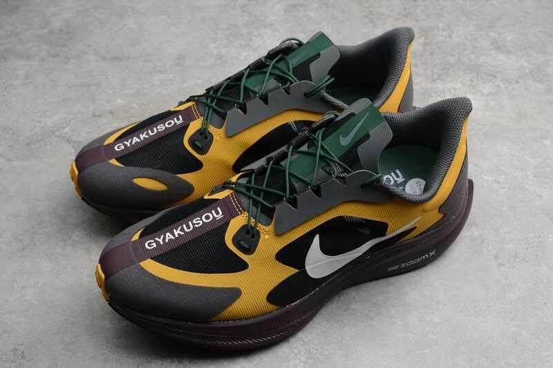 Diskon Original_Nike Zoom Pegasus 35 Turbo Gyakusou Pria Bernapas Sepatu Kasual Sepatu Kets Olahraga Hitam/Abu-abu/Kuning BQ0579-700