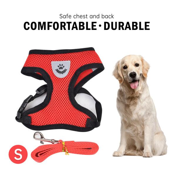 Dog chiến thuật vest dây đeo dây xích cho đào tạo kiểm soát đi bộ với clip