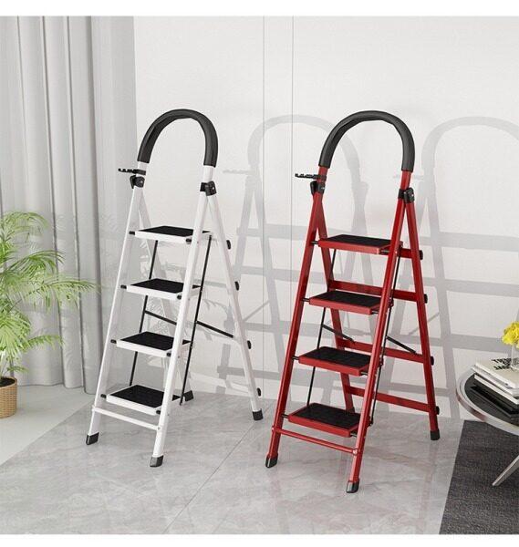 Foldable Four Level Ladder Four Layer Ladder Four Layer Stairs Empat Tingkat Tangga Lipat 折叠家用折叠梯四层梯子