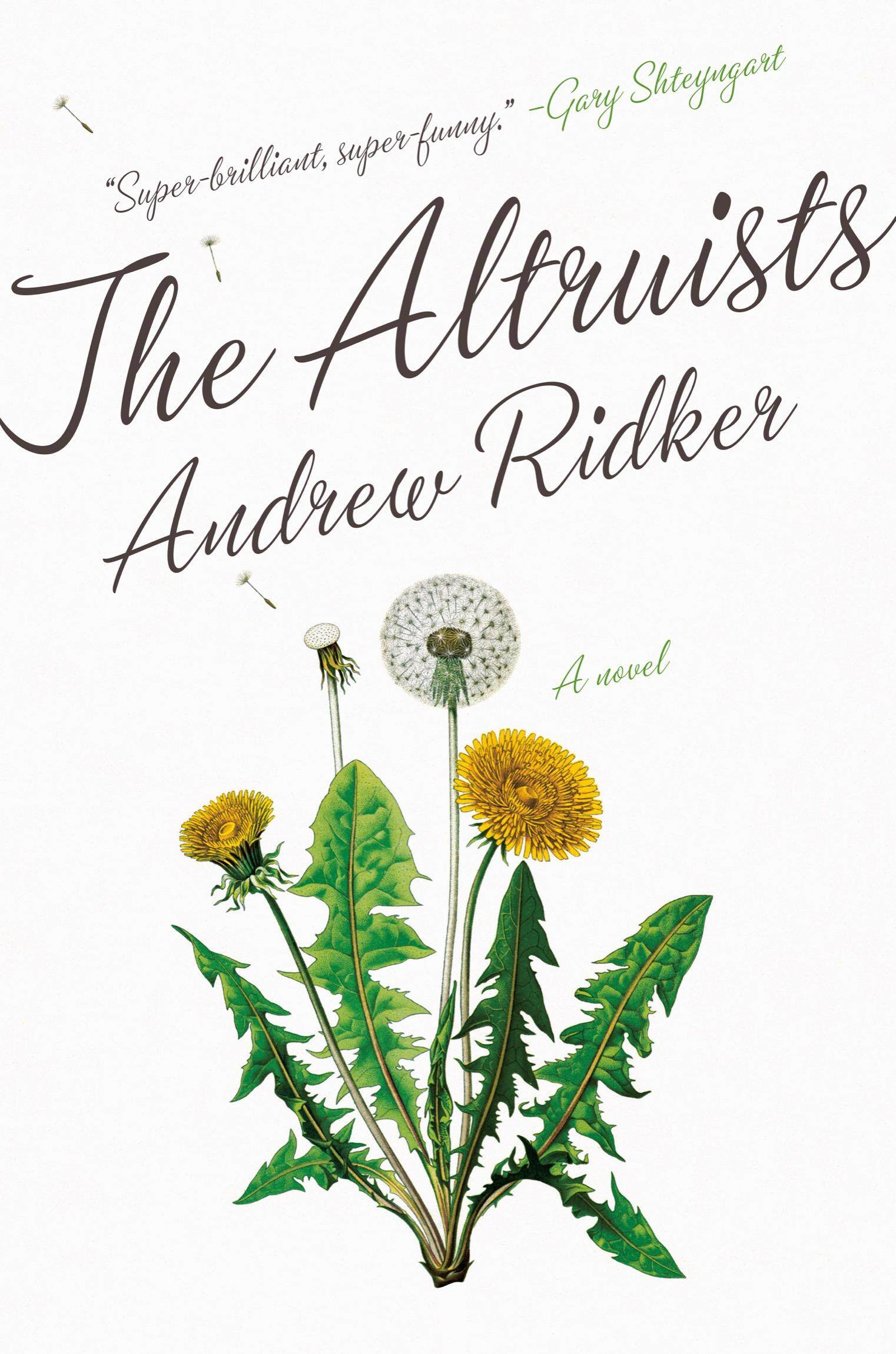 The Altruists by Andrew Ridker eBooks (Epub)