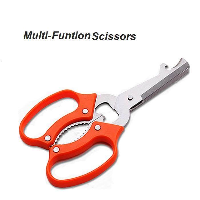 MALAYSIA STOCK - GUNTING POTONG DAGING AYAM / Multi Funtion Kitchen Scissors