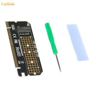 CaBala Thẻ Chuyển Đổi PCIE NVME M.2 SSD Sang PCIE X16 Giao Diện M-key, Dành Cho Windows 7 8 10 Linux thumbnail