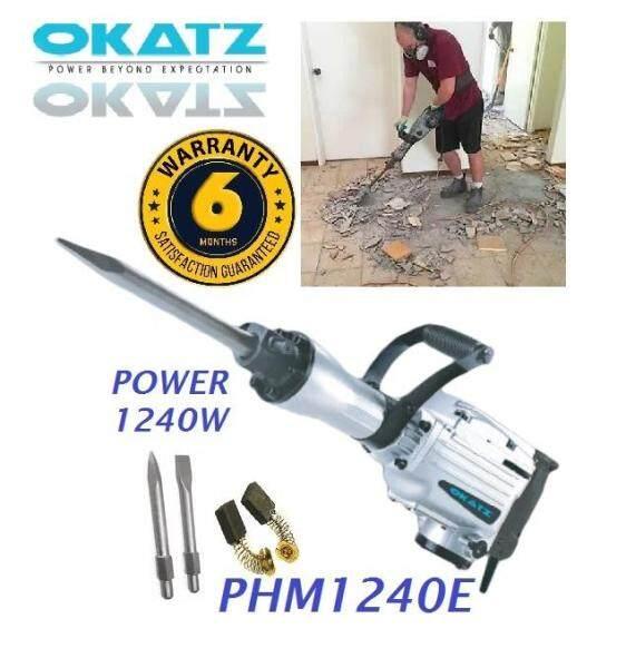 Okatz PHM 1240W 30mm Hex Demolition Jackhammer, Demolition Hammer