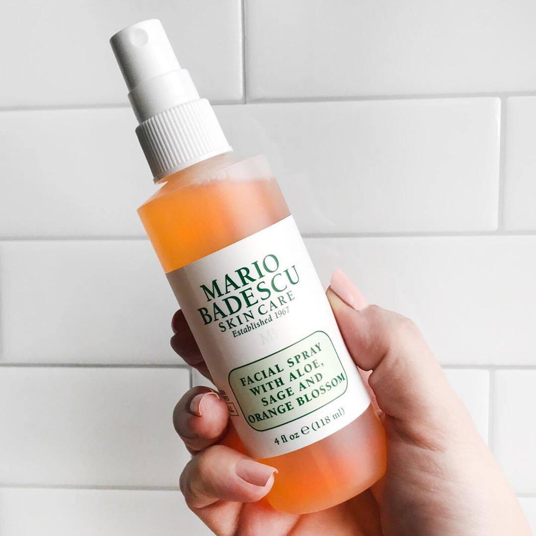 Mario Badescu Facial Spray With Aloe Sage And Orange Blossom 118ml