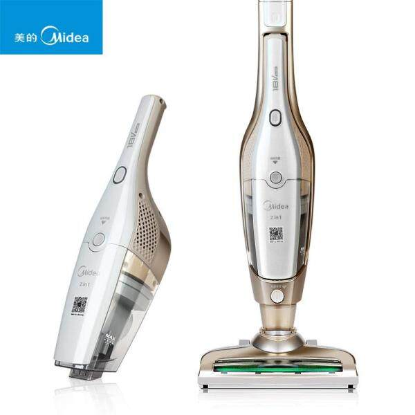 Midea Electric 2 in 1 Wireless Hand Hold Vacuum Cleaner Home Vertical Mute Clean No Supplies U5-L021C Household Car Dual Purpose Singapore