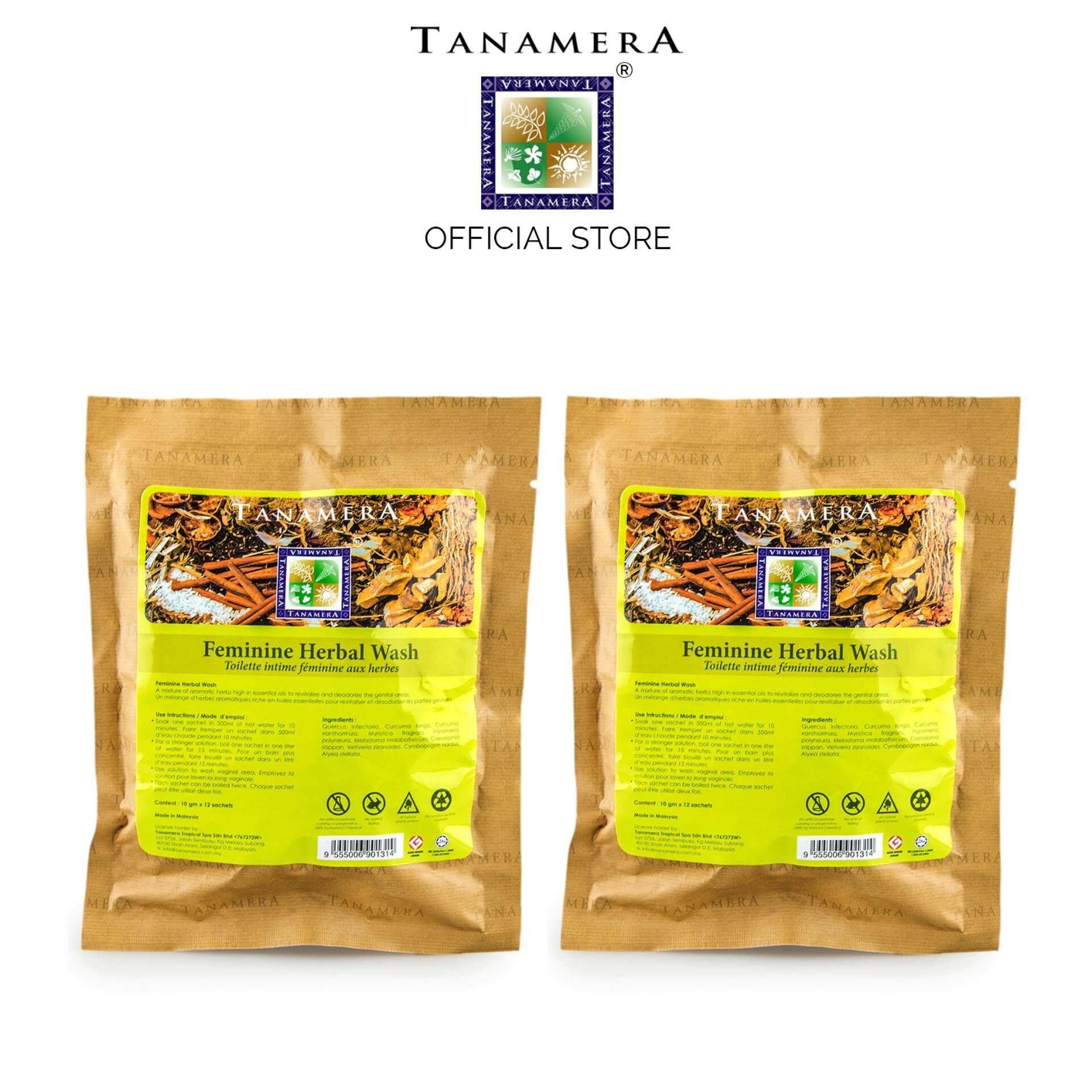 Tanamera Feminine Herbal Wash 120g x 2