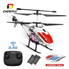 Máy bay trực thăng điều khiển từ xa deerc de51, máy bay trực thăng trong nhà và ngoài trời 2.4Ghz cho trẻ em và người mới bắt đầu