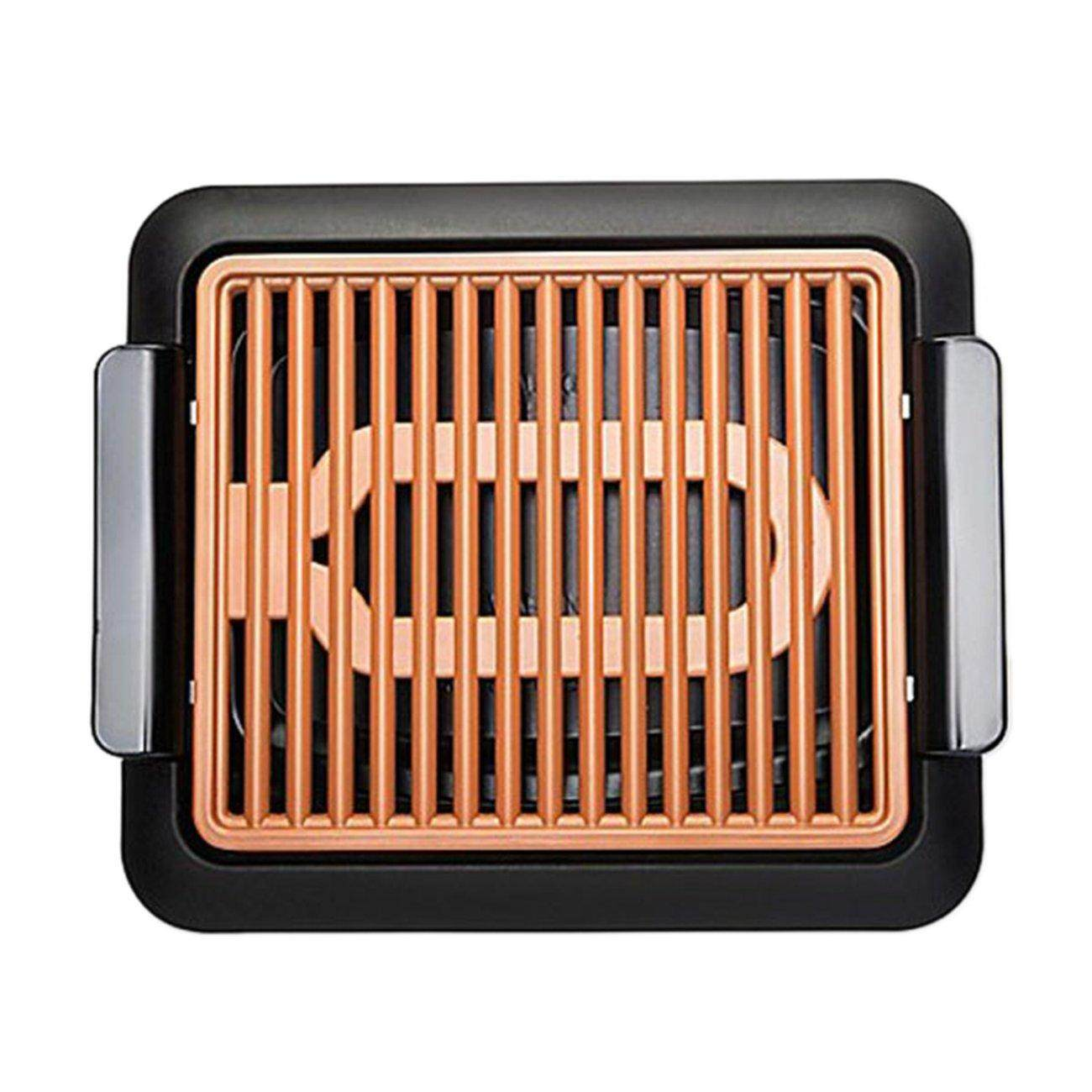 UINN Non-Stick Durable Electrothermal barbecue plate Fast BBQ Smokeless Grill