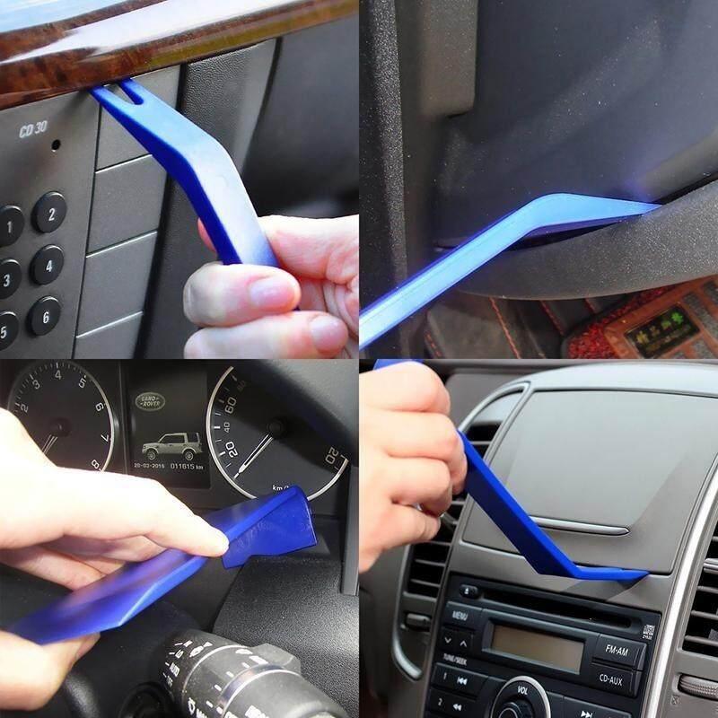 8pcs Opening Tool Set Hard Plastic Auto Car Radio Panel Interior Door Clip Panel Dashboard Removal Car Repair Tool Kit