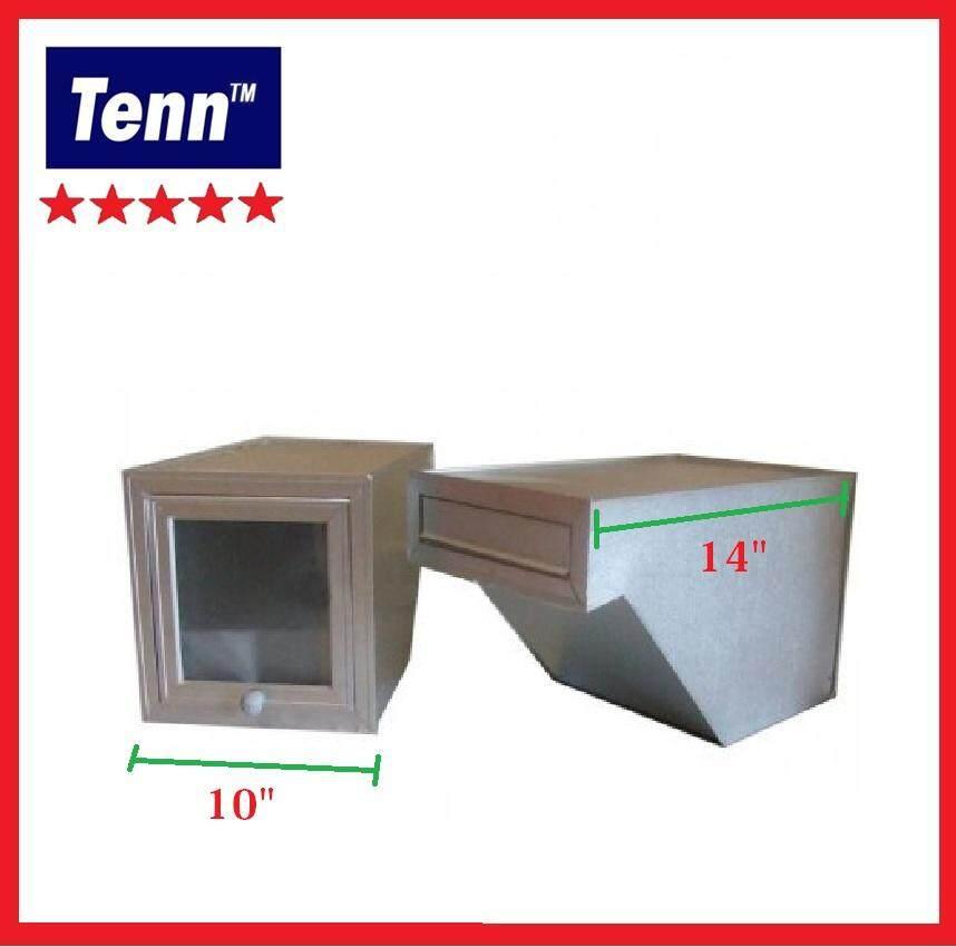10 X 14  Aluminium Letter Box