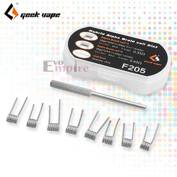 [EVO EMPIRE] Genuine GeekVape Hybrid Alpha Braid Coil 2 in 1 8pcs Per Box