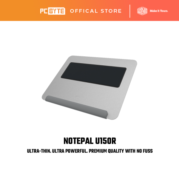 Cooler Master Notepal U150R Ultra-Thin Notebook Cooling Pad Malaysia
