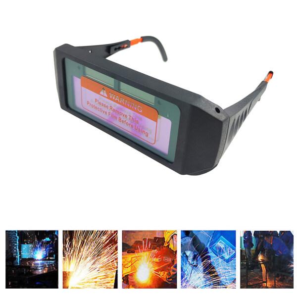 Solar Auto Darkening Welding Glasses Safety Goggles Helmet Mask Eyewear Eye Protection Eyes Solar Powered Tools