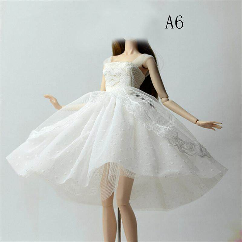 10064faeef0e3 XIUYA Handmade Doll Dress Clothes For 11'' 1/6 Dolls Party Sequin Tulle  Gown Dress