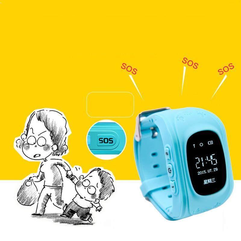 Nơi bán Cá Tuyết Fahson Đồng Hồ Thông Minh Trẻ Em Q50 Trẻ Em Theo Dõi Từ Xa GPS An Ninh Cuộc Gọi SOS Dành Cho Trẻ Em