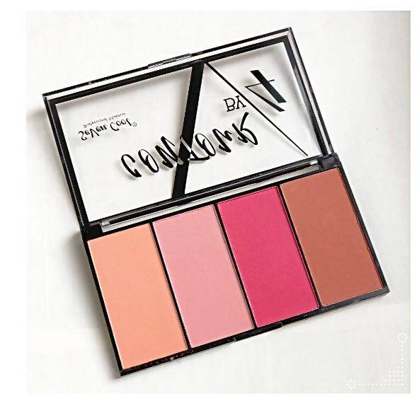 Seven Cool Contour By 4 Blusher Palette By Sigma