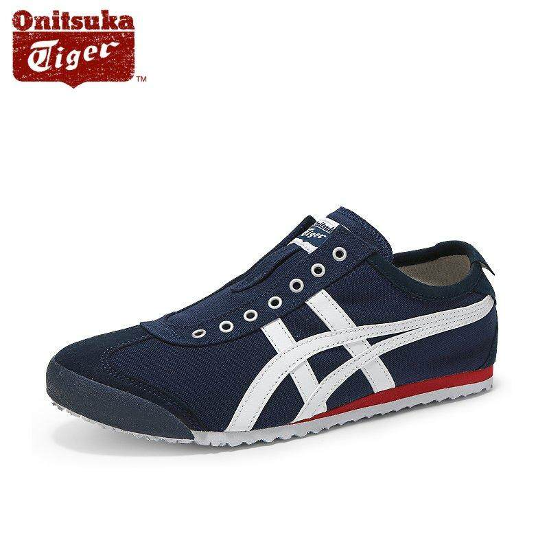 f6d36f034cd Onitsuka Tiger New Mexico 66 Slip-On D3K0N_5099 Navy/Off White Casual Shoes
