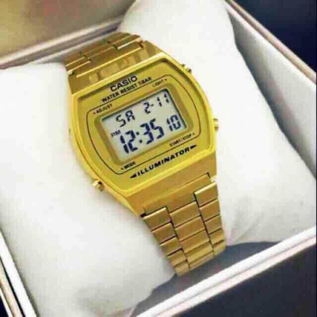 Casio B640 Gold Malaysia