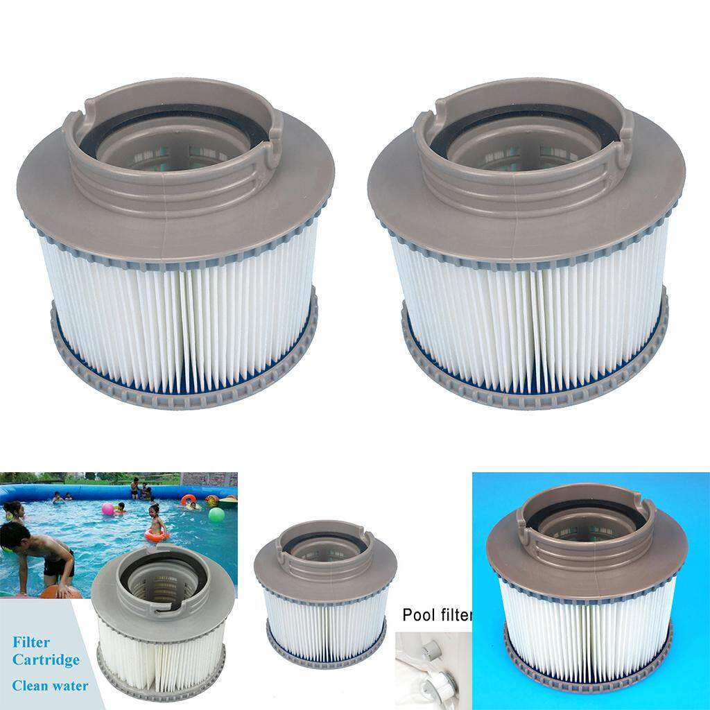 MagiDeal 2x Filter Cartridges Strainer for Hot Tub Spas Swimming Pool for MSPA FD2089