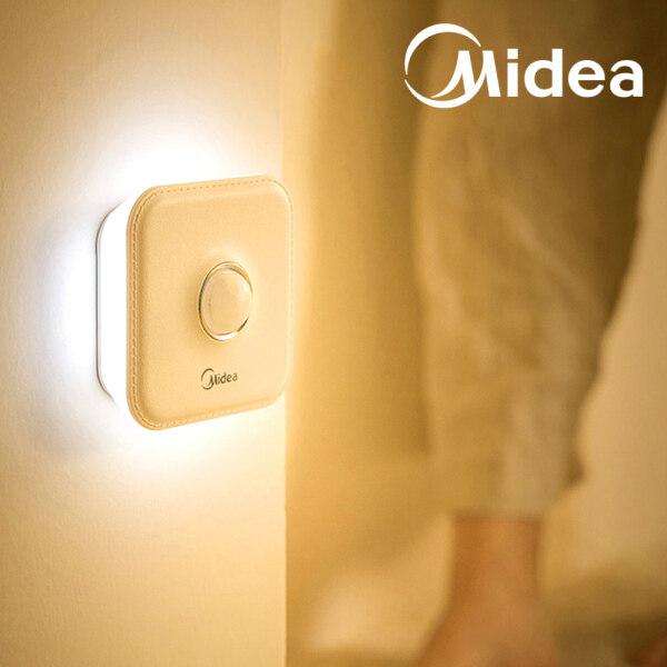 Đèn Ngủ Cảm Biến Chuyển Động Midea Stick-Bất Cứ Nơi Nào/Máy Tính Để Bàn Đèn Ngủ Đèn LED Không Dây Có Thể Sạc Lại, W/4000K Ánh Sáng Ấm Áp/ 3 Chế Độ