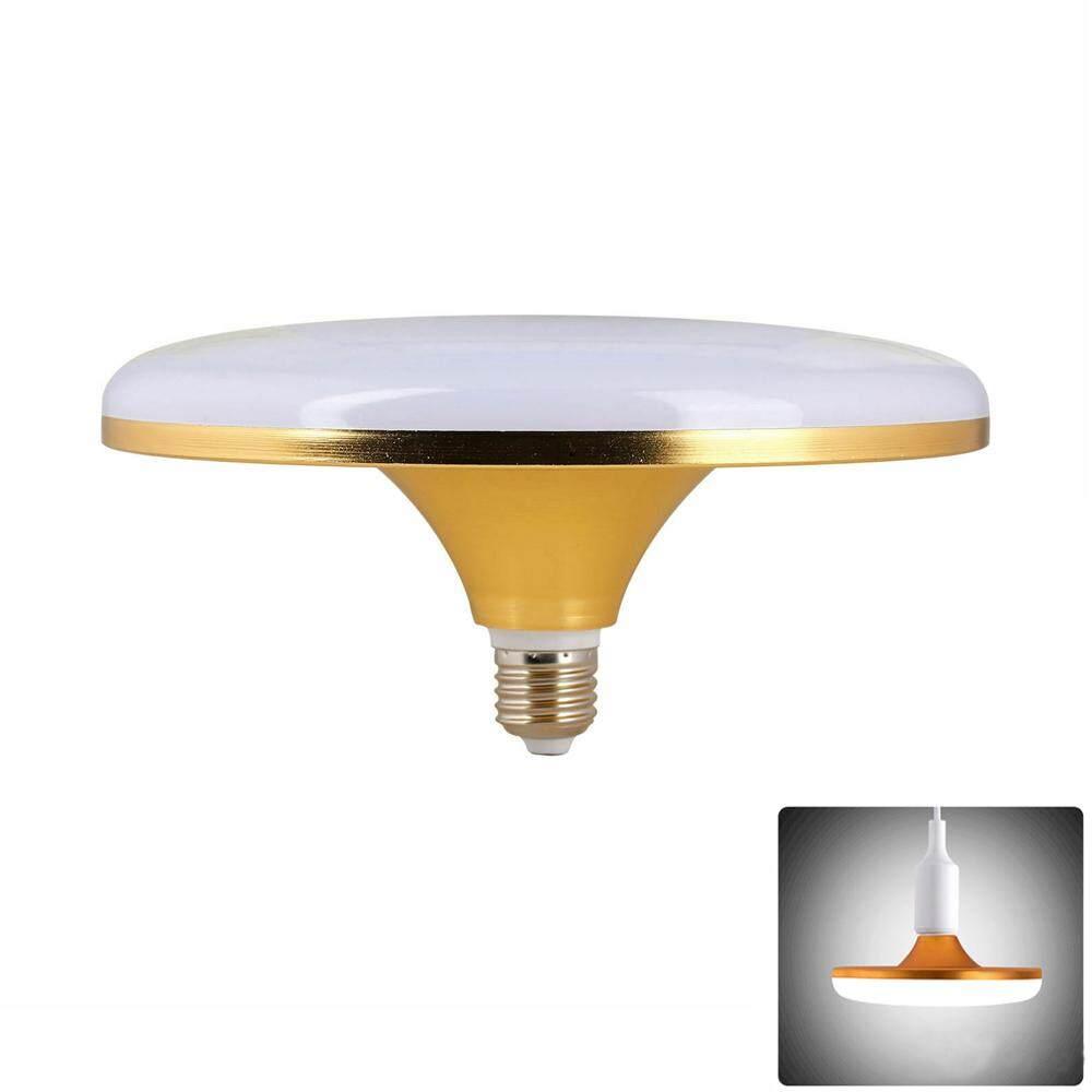 LED Lampu Sorot UFO Dunia Bohlam Bulat Lampu Plafon Lampu Hemat Energi Datar Tinggi Power Lampu Pijar LED Lampu Putih Keren 220V untuk Rumah