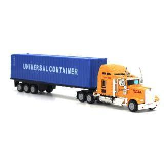 Mô hình xe container bằng hợp kim tỷ lệ 1 65 cho bé Dece - INTL thumbnail