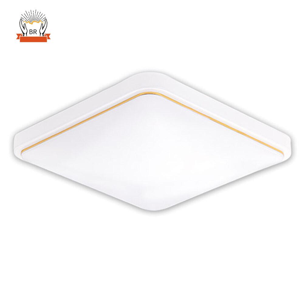 Lampu LED Bawah Plafon Persegi, Desain Modern untuk Kamar Tidur, Dapur, Ruang Tamu