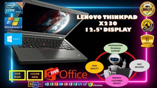 LENOVO THINKPAD X230 3RD GENERATION/INTEL CORE I5/4GB RAM/320GB HDD/WARRANTY 6 MONTH Malaysia