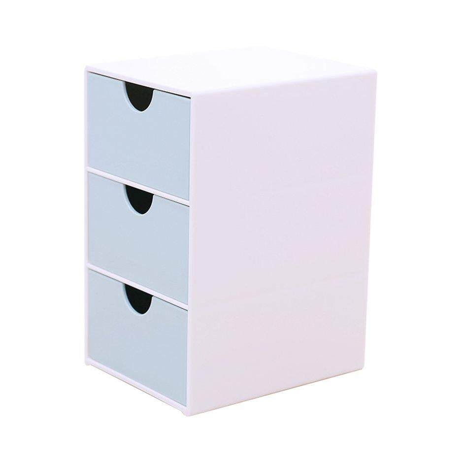 Best Sales Sd-9038 Three Compartment Drawer Storage Box