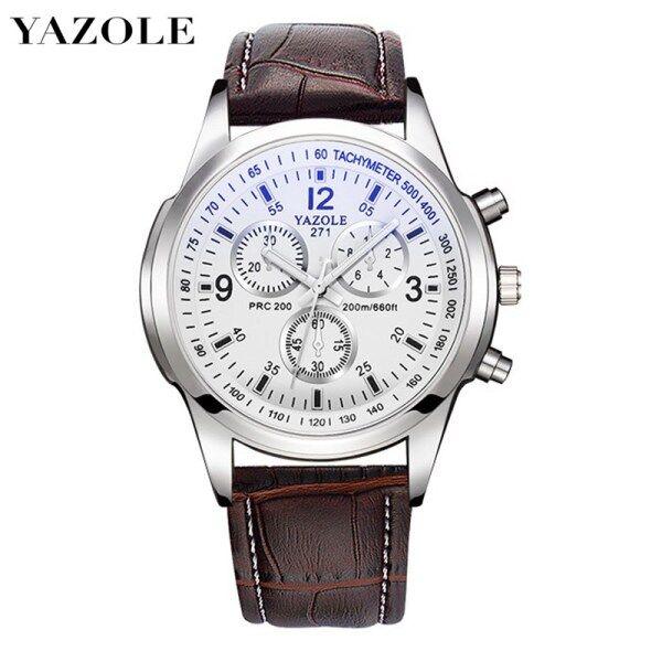 YAZOLE 271 Top Luxury Brand Watch For Man Fashion Sports Men Quartz Watches Trend Wristwatch Gift For Male jam tangan lelaki Malaysia