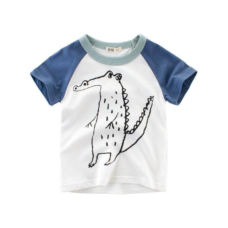 97e39b130 Summer 2018 boys' short-sleeved T-shirt children's clothing Korean version  of children's
