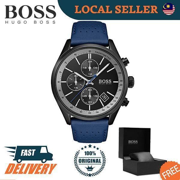 [Authentic] Hugo Boss Contemporary Sport Grand Prix Men Watch 1513563 Malaysia