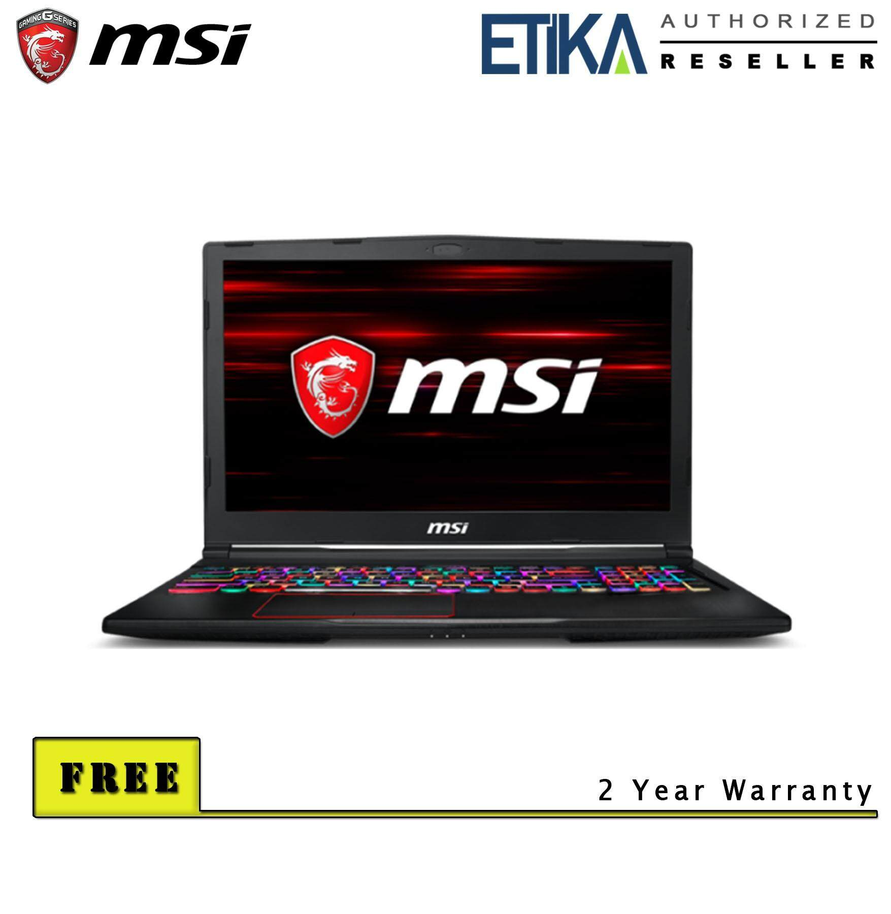 MSI GE63 Raider 8RF RGB-467 ((GeForce GTX 1070 , 8GB GDDR5) Gaming Laptop - Free Backpack Malaysia
