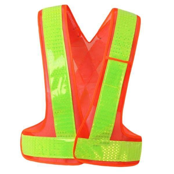 Miracle Shining Reflective Safety Vest High Visibility Safety Sleeveless Shirt 118cm