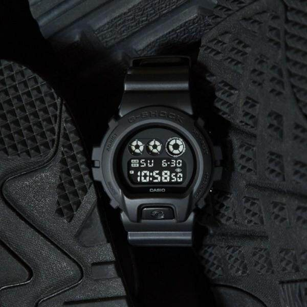 Casio_G_$hock 6900  KACA Polis Evo Black Knight Cool Malaysia