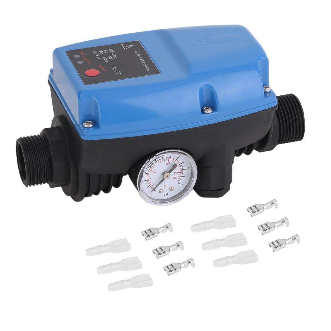 Best Sales SKD-5 Electronic Automatic Water Pump Pressure Control Switch With Gauge