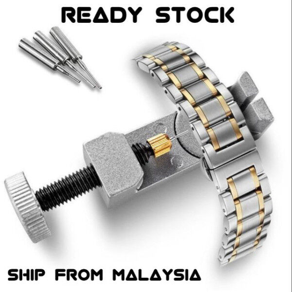 New Metal Bracelet Link Pin Remover Repair Adjustable Watch Band Strap Tool Set Malaysia