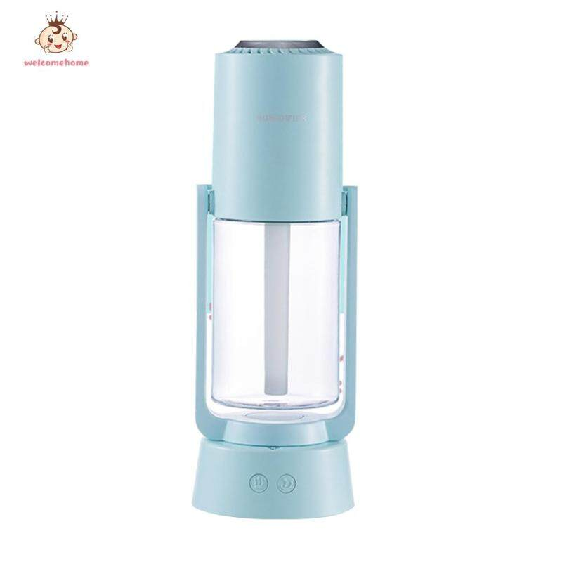 Negative Ion Purification Spray Air Humidifier Aroma Diffuser with Light Mist Maker Refresher Singapore