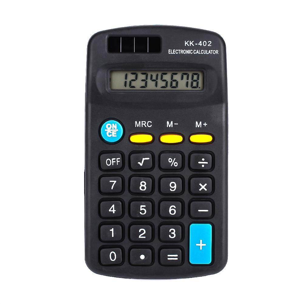 Electronic Calculator Portable Calculator Pocket Calculator Portable Mini 8 Digit LCD Commercial Tool Scientific