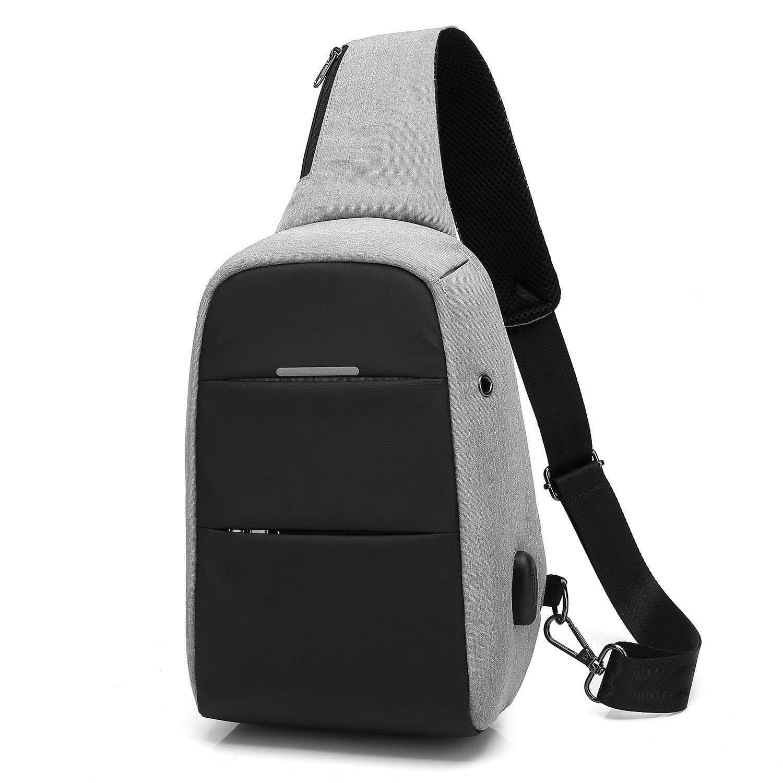 0cbde86c2 China. DTBG Sling Bag Sling Backpack Nylon Shoulder Bag Waterproof Chest  Pack Outdoor Crossbody Bag with USB