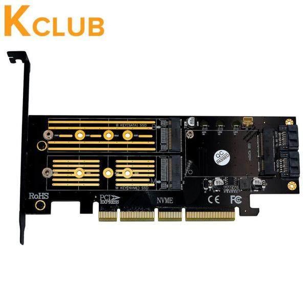 Bảng giá M.2 NVMe SSD NGFF SSD MSATA Sang PCI-E 4X Raiser MSATA 3 Trong 1 PCI-E Card Nâng Phong Vũ
