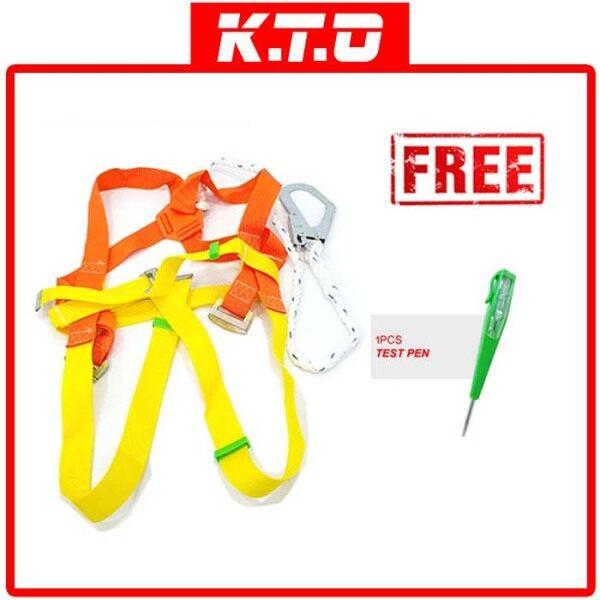 SAFETY BELT FULL BODY HARNESS LARGE HOOK 461 + FREE 1PCS TEST PEN